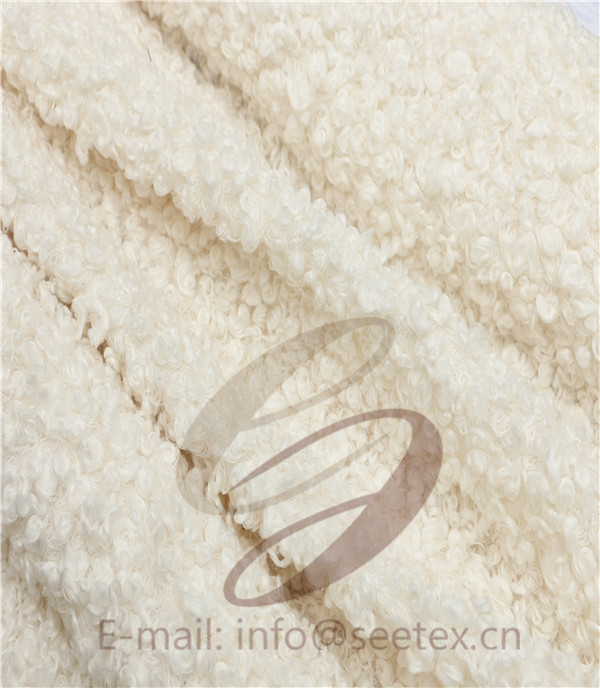 sherpa fleece faux fur/ fake fur