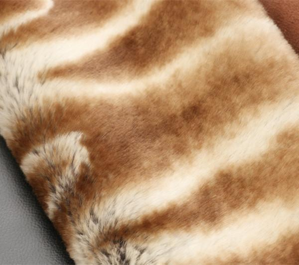 Chinchilla design faux fur/fake fur