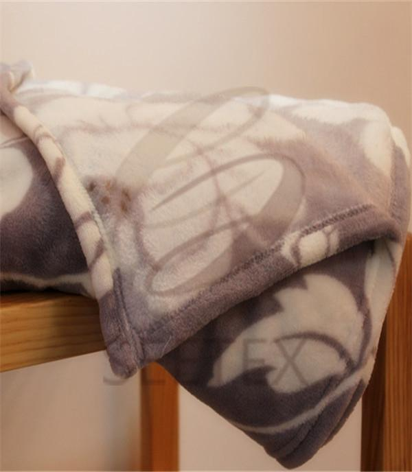 double face coral fleece blanket