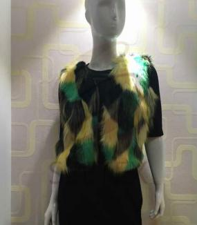 The faux fur garments' maintaince
