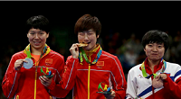 Ding Ning wins all China women's table tennis final at Rio 2016 Olympics