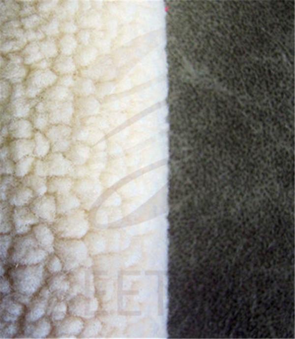 Grey Pu Leather Bonded
