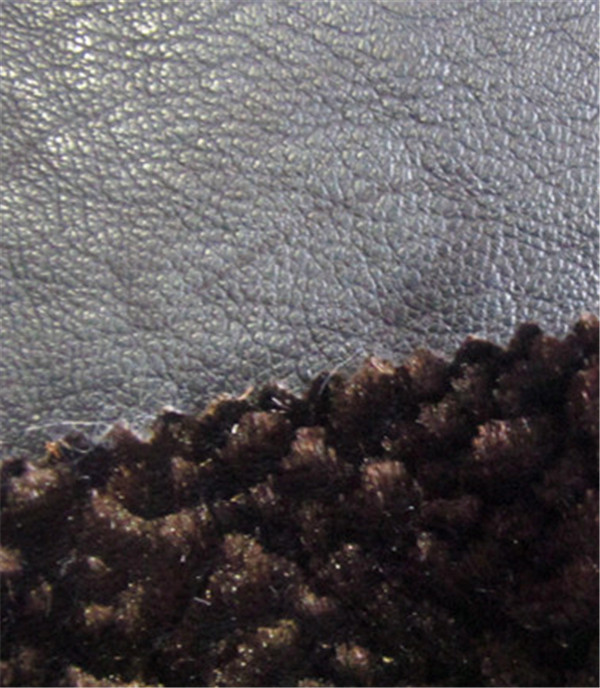 Textured Pu Leather Bonded