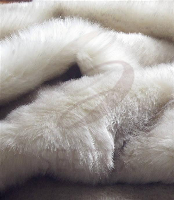 White Fox Faux Fur