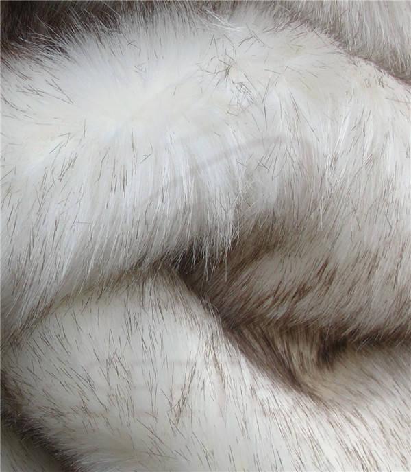 White Mink Faux Fur