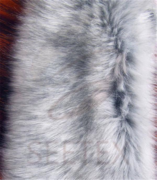 Grey Fox Faux Fur