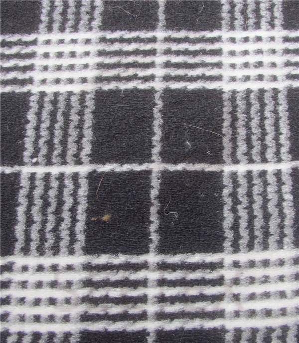 Latticed Jacquard Woolen