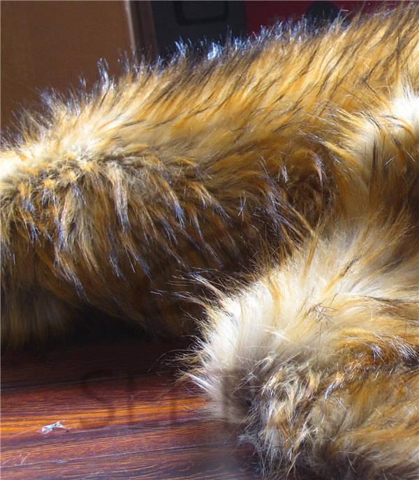 Long Pile Raccoon Fur
