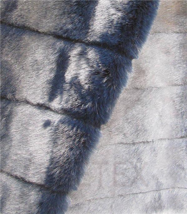 Steel Blue Cut Mink
