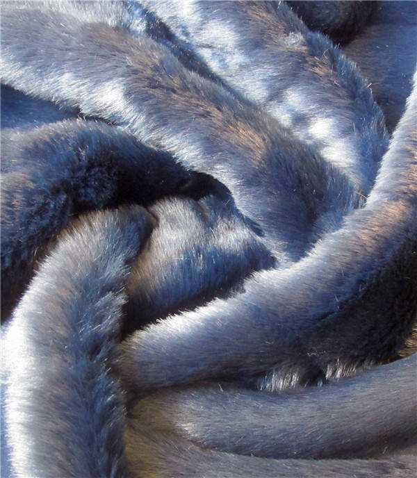 Steel Blue Cut Mink