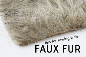 6 tips for sewing with faux fur