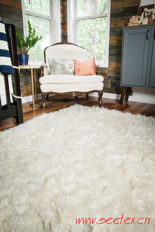 faux fur rug manufacturer
