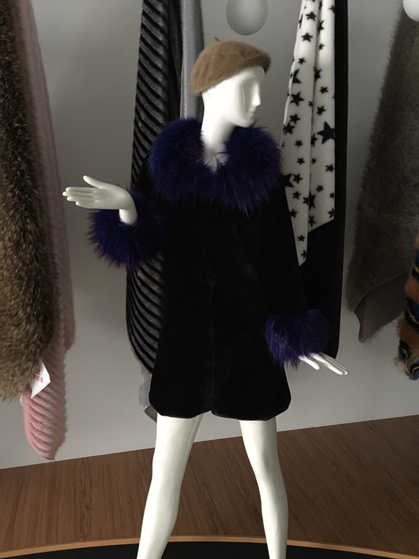 faux fur garments
